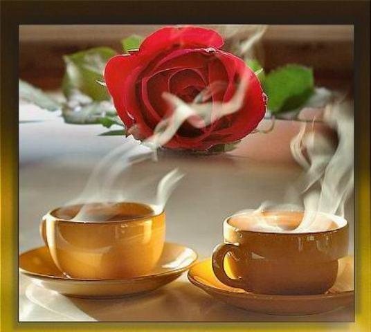 кафе и рози