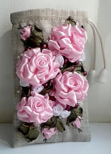 Калъф за gsm с рози