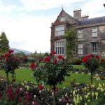 замък с розова градина
