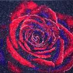 Роза от бонбони